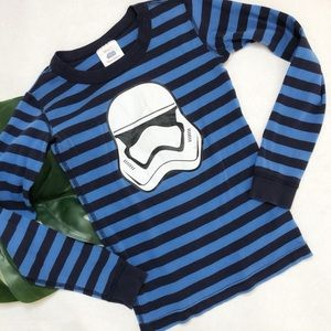 Hanna Andersson Star Wars Stormtrooper Top Size 10